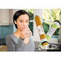 Buy cheap 100 GPD Dry Ro Membrane Replacement, Reverse Osmosis Cartridge 96-98% Stable Rejection product