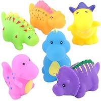 Buy cheap Soft Floating Dinosaur Rubber Bath Toys Phthalate Free For Tub / Pool / Beach product