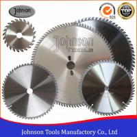 Buy cheap High Precision Sharp Cutting Blade TCT Circular Saw Blades For Plastic / Plywood / Aluminum product