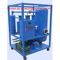 Buy cheap 10-300L/min Industrial Waste Lubricating Oil Purifier product