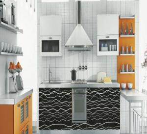 Buy cheap U Shape MDF Kitchen Cabinet product