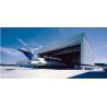 Buy cheap Aircraft Hangar Single Storey Steel Buildings High Rise Environmental Protection product