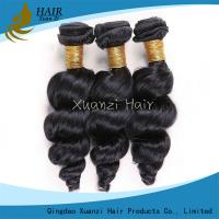 Quality Long Lasting Malaysian Virgin Hair Extensions Loose Wave 100%  Virgin Hair for sale