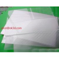 Buy cheap The most thinnest PET lenticular sheet len 51x71cm, 0.35mm 3D Lenticular  film materials for UV offset print product