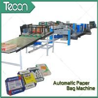 Buy cheap 33KW Automatic Paper Bag Making Machine With Step Cut & Flat Cut product