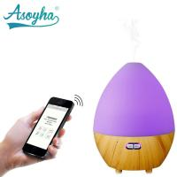 Buy cheap Bluetooth & App Audio Ultrasonic Cool Mist Humidifier Egg Shape With Colorful Lights product