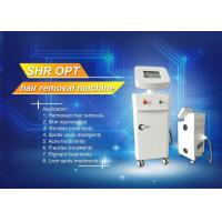 Buy cheap SHR ipl laser hair removal machine , WHITE laser tattoo removal machine product