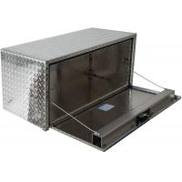 Buy cheap Diamond Pedal Aluminum Storage Cabinet Silver Aluminum Truck Box product