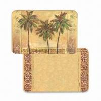 Buy cheap Plastic Placemats with Coasters for Kitchen, Made of PP, Customized Designs are Accepted product