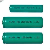 Buy cheap Handling performance High Capacity Portable 1.2v Nickel Metal Hydride Rechargeable Battery product