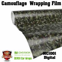 Buy cheap Camouflage Automotive Vinyl Wrapping Film bubble free 1.52*30m/roll - Digtal product