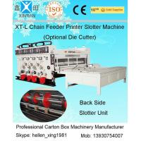 Buy cheap Corrugated Cardboard Flexo Printer Slotter Machine with 3000mm Inboard Width from wholesalers