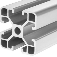 Buy cheap Mill Finish 6063 T5 40x40 Aluminum Assembly Line Extrusions product