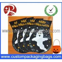 Buy cheap Custom Made HDEP Plastic Treat Bags Colored For Halloween Candy Treat product