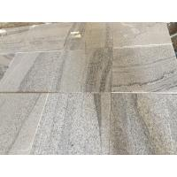 Buy cheap Viscount White Vein Light Grey Grey Granite Bathroom Tiles For Swimming Poor product