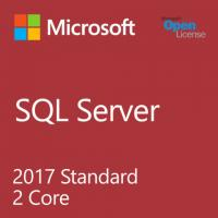 Buy cheap 2017 Sql Server 2 Core License 1 Admin User Microsoft Standard With 2.0 GHz product