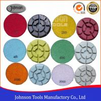 Buy cheap 100mm Diamond Polishing Pads for Concrete , Polishing the Concrete Countertop and Floor product