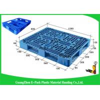 China Durable Nestable Plastic Euro Pallets Anti - Slip For Transport Industrial on sale