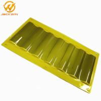Buy cheap Dustproof Plastic Yellow / Blue Delineator Sign Sheet For Tunnel Road Construction product