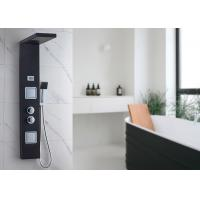 Buy cheap Waterfall Top Sprayer Shower Panel System , Rain Shower Panel ROVATE CE Compliant product
