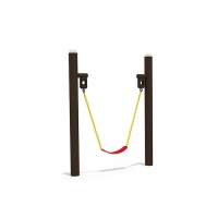 Buy cheap Safe Two Stands Eva Commercial Belt Swing Seat With Chain product