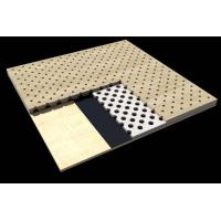 Buy cheap Office Building Perforated Wood Acoustic Panels / Sound Absorption Board product