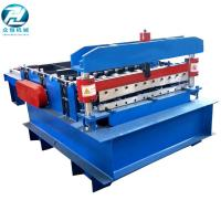 Buy cheap Blue Automatic Cutting Machine With Leveling Rollers And Hydraulic Cutting from wholesalers