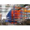Buy cheap Blue Red Mobile Storage Racks Q235B Custom Pallet Electric Mobile Shelving product