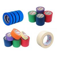 Buy cheap Masking Tape Made of Easy-to-tear Paper Backed with Relatively Weak Adhesive product