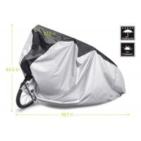 Buy cheap Outdoor / Indoor Bicycle Cover , Two Wheeler Bike Cover Lock Hole Design from wholesalers