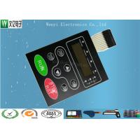 Buy cheap Multi LED Embossing Membrane Switch 10 Pin Female Connector 1.0mm Pitch product