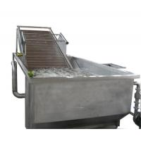 Buy cheap Full Automatic Fruit Processing Equipment Surfing Bubble Washing Machine product