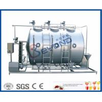 Buy cheap Small Conjunct Type 500LPH CIP Cleaning System For Milk Dairy Industry product
