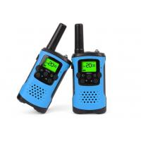 Buy cheap Durable Dual Band Kids Walkie Talkie Blue Color With Noise Cancelling Function product