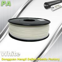 Buy cheap High Strength 3D Printing Nylon Filament 1.75 / 3.0mm Withe no bubble product