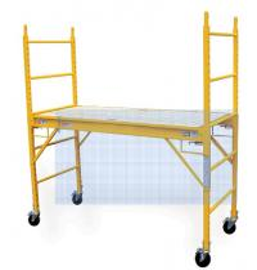 Buy cheap Multi Purpose Aluminum Mobile Scaffolding , 6' Step Scaffold Platform product