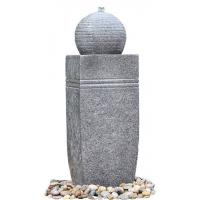 Buy cheap Outdoor Sphere Water Fountains , Granite Ball Fountains In Fiberglass / Resin Material product