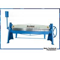 Buy cheap manual steel folding machine/steel sheet metal bender/duct folding equipment product