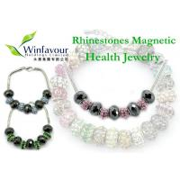 Buy cheap Rhinestones magnetic hematite jewelry product