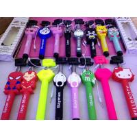 Buy cheap Best selling selfie stick with aux cable,3d cartoon selfie stick monopod product