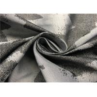 Buy cheap Rich Color Graphic Print Fabric For Jacket , 100 Polyester Fabric Jacquard Style from wholesalers