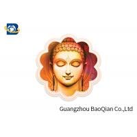 Buy cheap Customized Size 3D Lenticular Card 3D Depth Effect Religional For Premium product