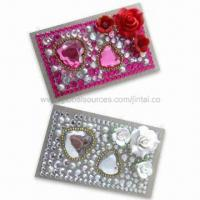 Buy cheap Rhinestone Bling Tattoo Stickers, OEM and ODM Orders are Welcome, Available in Various Colors product