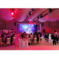 Buy cheap Wedding Stage Decoration Led Full Color Display Screen Cabinet For Exhibition , Ultra Thin product