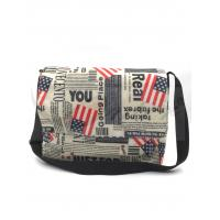 Buy cheap 420D Polyester Travel Messenger Bag Pouch With Printing / Embroidery Logo from wholesalers