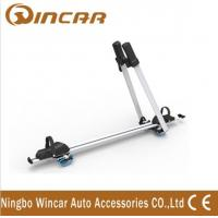 Buy cheap Frame / Wheel bicycle jeep auto Adjustable Aluminum Roof Rack Bike Carrier product