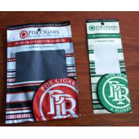 Buy cheap Custom Cigar Humidor Bags / Cigar Wraps with Zipper and Window product