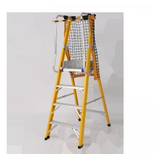 Buy cheap Household Fiberglass Platform Ladder / Fiberglass Multi Ladder With Handrail product