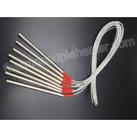 Buy cheap Stainless Steel Sheath Electric Cartridge Heaters With Externally Connected Leads product