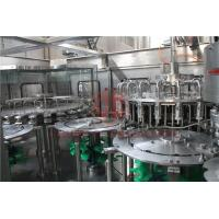 Buy cheap Hot Temperature Juice Filling Capping Labeling Machines With Return System product